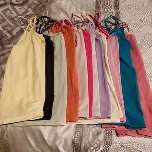Layering camis